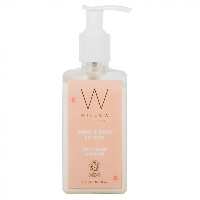 NEW Rose and Argan Hand & Body Lotion