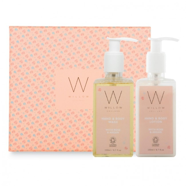Rose & Argan Gift Set