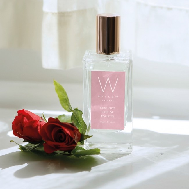 NEW Organic Rose Mist Eau de Toilette