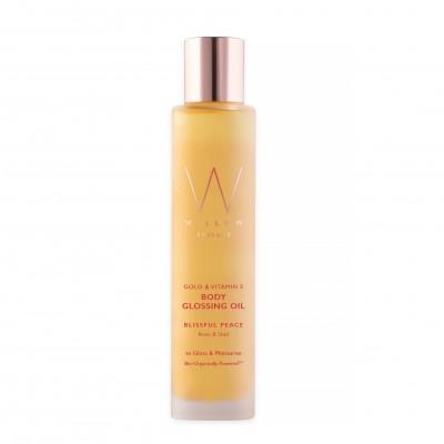 Vitamin E & Gold Body Glossing Oil