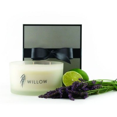 Luxury 3 Wick Candle in Lime & Lavender