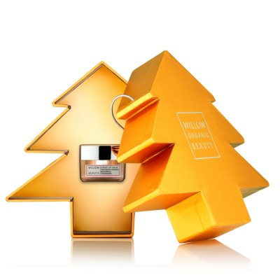 Christmas Tree with Lip Balm