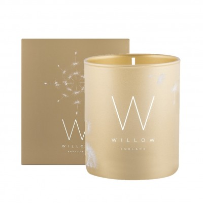 Gold Frankincense & Myrhh Single Wick Candle