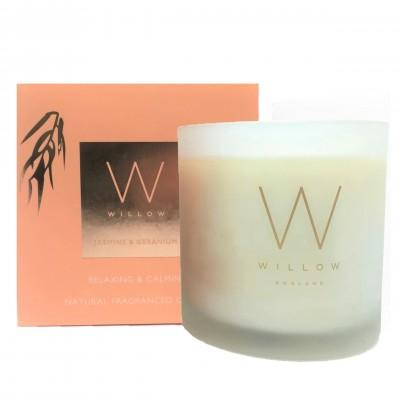 Dewy Jasmine & Geranium 3 Wick Candle