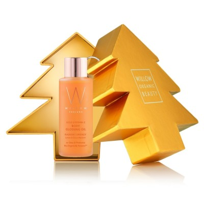 Limited Edition Festive Tree Bauble & Body Oil