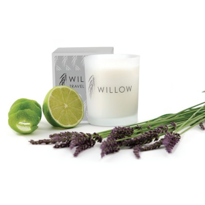 Travel Candle in Lime and Lavender