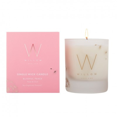 Blissful Peace Single Wick Candle