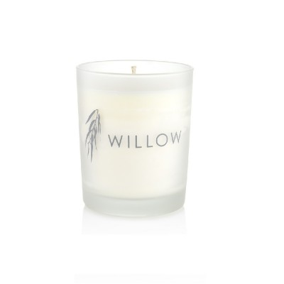 Small White Winter Candle