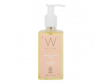 NEW Rose and Argan Hand & Body Wash