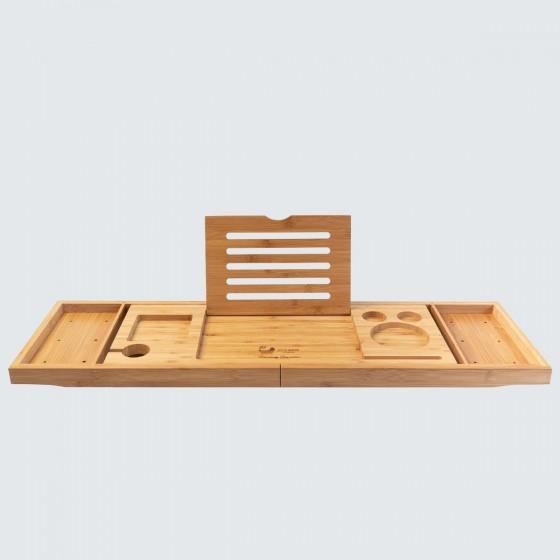 Luxury Bamboo Bath Tray