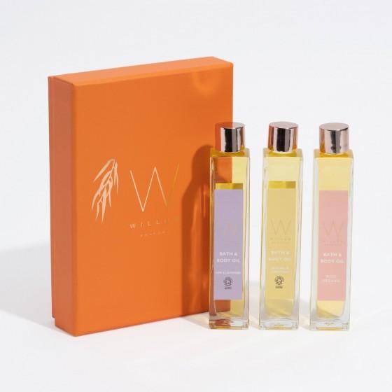 Luxury Bath & Body Oil Set