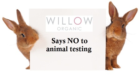 Willow says no to animal testing