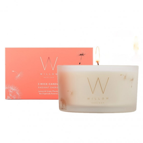Radiant Energy 3 Wick Candle