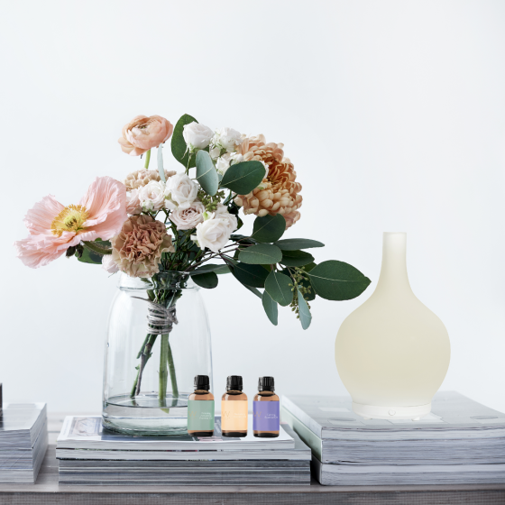 Electric room fragrance diffuser