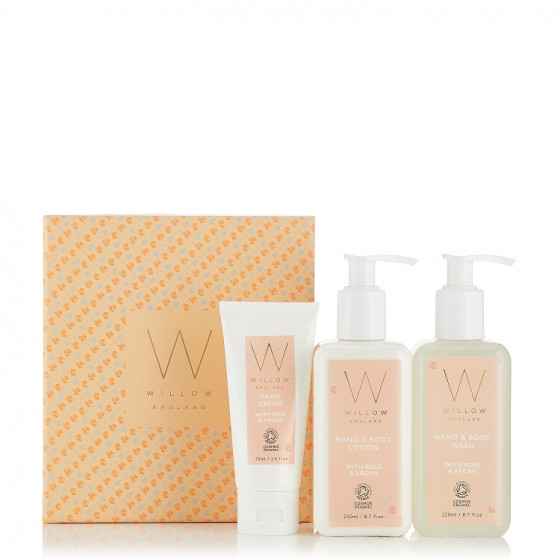 Rose and Argan Hand & Body Collection