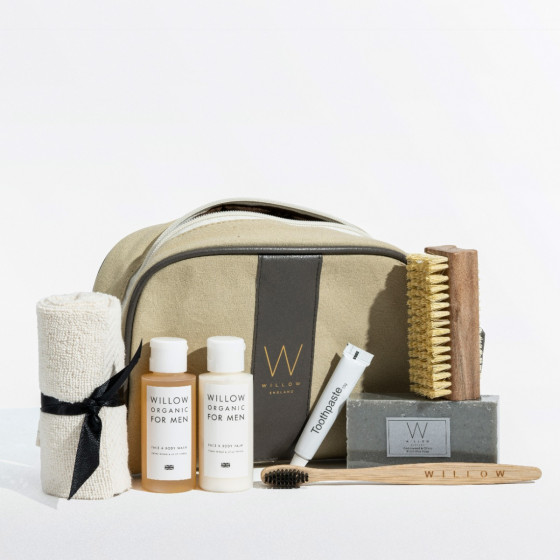 Men's travel gift bag